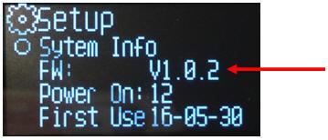 V-1000 Firmware updaten